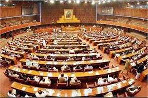 ruckus in pak parliament as imran khan skips emergency