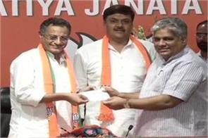 nagar sanjay seth join bjp after leaving sp