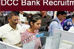 jdcc bank recruitment 201 on clerk posts