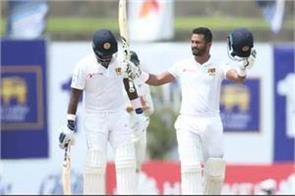 sri lanka beat new zealand with century by captain karunaratne