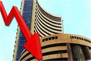 sensex down 268 points and nifty closed at 10918
