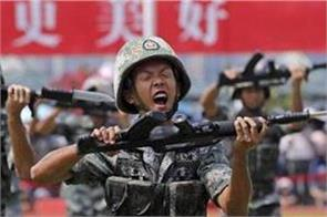 rotated china troops  will defend hong kong prosperity