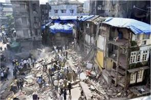 five storey building collapsed in thane district of maharashtra