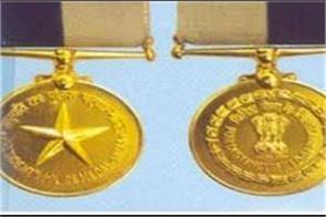 president police medal awarded dgp home guard bk sinha
