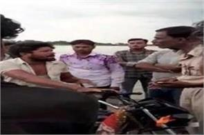 police slap rooters stunting flood three gates gandhi sagar dam opened