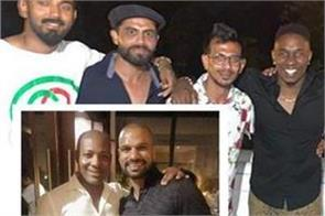 team india player enjoys party at brian lara house