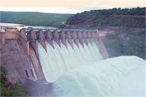 water level of bhakra dam will be reduced 5 feet to 1675 feet