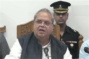 focus on law and order in kashmir not a single life has been let go governor