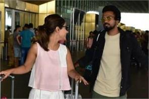 hina khan spotted at mumabi airport with boyfriend rocky jaiswal