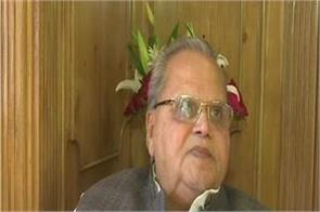 satyapal malik said about jammu and kashmir no one has to fear in the valley