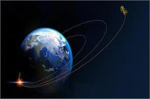 chandrayaan 2 for the fifth time changed earth s orbit