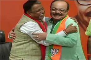 former kolkata mayor sowan chatterjee joins bjp