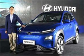 hyundai lowered the price of kona electric 1 58 lakhs after the gst rate
