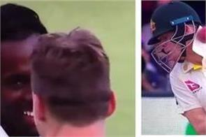 is jofra archer smiling after hit steve smith on the head in lords test