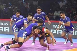 pro kabaddi league  haryana will come down to win