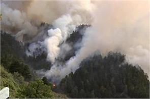 fire in spain s forests 8000 people sent to safe place