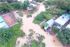 more than 70 thousand people affected by floods in andhra pradesh