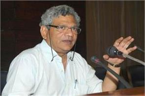 modi s statement in kashmir on security forces deployment in kashmir yechury