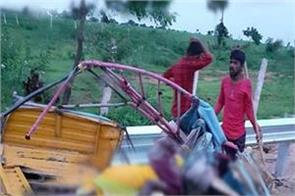 14 people killed in road accident in telangana