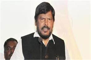 mamta didi should not get angry over bjp coming to the state athawale