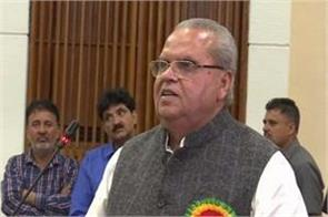 governor satyapal malik holds high level meeting reviews security