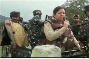 lady officer s terrorists last warning before encounter in jammu watch video