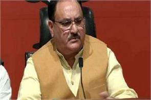 attack on bjp mp nadda accuses tmc of killing democracy