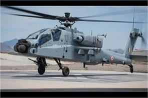 apache helicopter to be included in indian air force fleet today