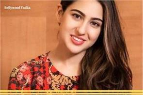 sara ali khan saying about her movie carrier