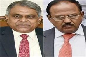 p k sinha s complicated position doval s power in cabinet