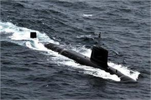indian navy will join submarine khanderi on saturday