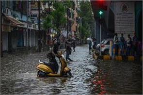 heavy rain in mumbai canceled trains