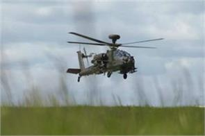 apache helicopter effective in combating enemies in mountains