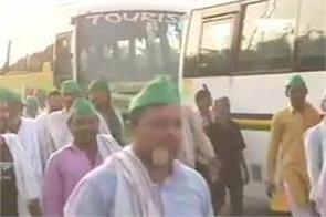 up farmers will make enter delhi in today
