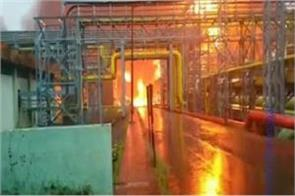 maharashtra fire breaks out at a cold storage at ongc plant
