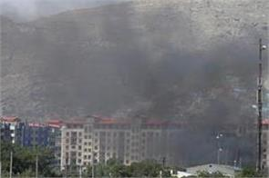 bomb blast near afghan intelligence office