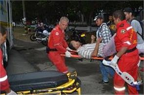 grenade attack injures 16 in colombia