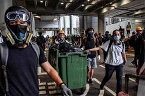 hong kong rail faces delays as protesters target trains