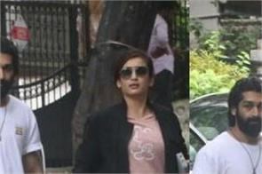 akshara haasan spotted at bandra with mystery man