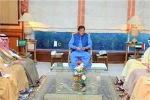imran discusses kashmir situation with saudi uae foreign ministers