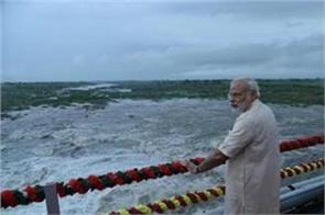 pm modi will go to sardar sarovar dam on birthday