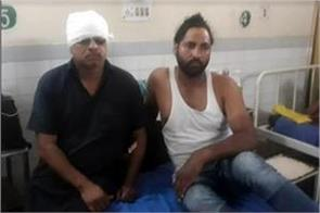 driver conductor of punjab roadways beaten by youth with sticks