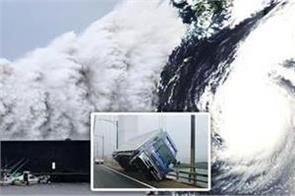 powerful typhoon faxai wreaks havoc on tokyo