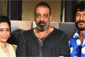 exclusive interview prassthanam starcast sanjay dutt and maanayata dutt