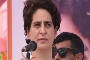priyanka gandhi attack on modi government about economy slowdown