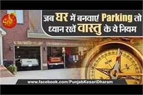 vastu tips for parking