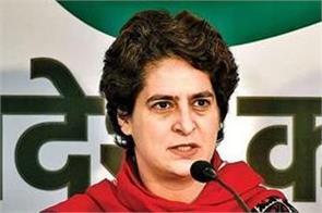 priyanka gandhi says up police sluggish in chinmayanand case