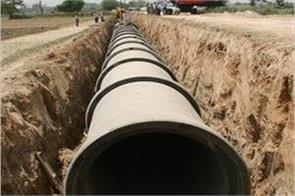 9 km long new sewerage main line will be built
