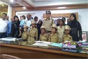 5 children make commissioner of police for 1 day