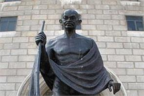 the largest number of mahatma gandhi statues and monuments in america